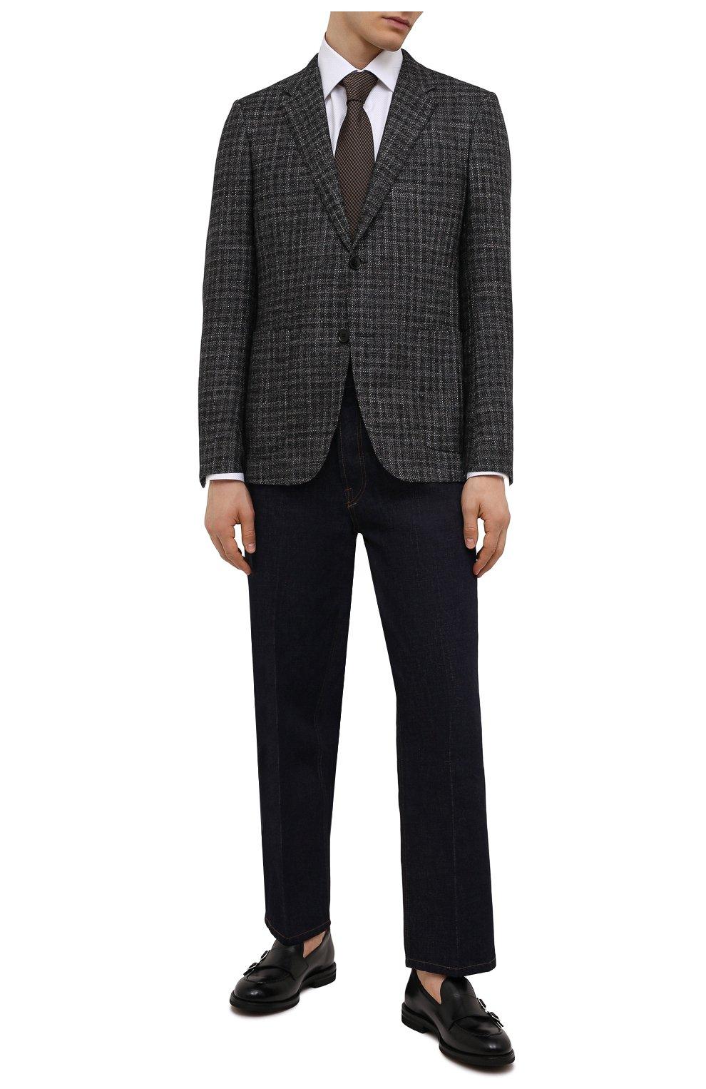 Мужские кожаные лоферы H`D`S`N BARACCO черного цвета, арт. 80404.3* | Фото 2 (Материал внутренний: Натуральная кожа; Стили: Классический)