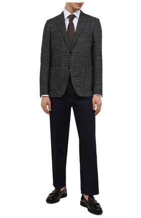 Мужские кожаные лоферы H`D`S`N BARACCO черного цвета, арт. 80404.3* | Фото 2