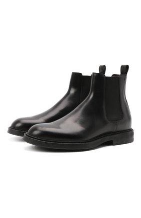 Мужские кожаные челси H`D`S`N BARACCO черного цвета, арт. 80503.8* | Фото 1
