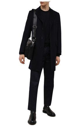 Мужские кожаные челси H`D`S`N BARACCO черного цвета, арт. 80503.8* | Фото 2