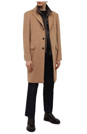 Мужские кожаные ботинки H`D`S`N BARACCO темно-коричневого цвета, арт. 81521.M.0* | Фото 2