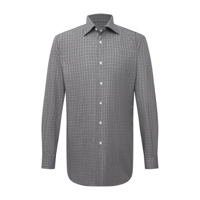 Хлопковая сорочка Brioni 12138456