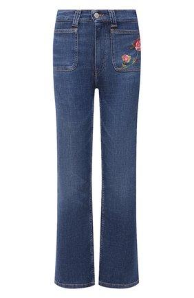 Женские джинсы POLO RALPH LAUREN голубого цвета, арт. 211843857 | Фото 1