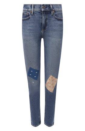 Женские джинсы POLO RALPH LAUREN голубого цвета, арт. 211843854 | Фото 1