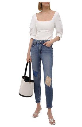 Женские джинсы POLO RALPH LAUREN голубого цвета, арт. 211843854 | Фото 2