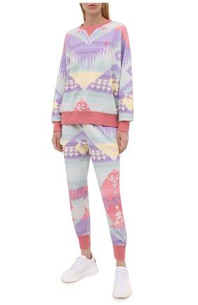 Женский хлопковый свитер POLO RALPH LAUREN разноцветного цвета, арт. 211841837 | Фото 2 (Материал внешний: Хлопок; Длина (для топов): Стандартные; Рукава: Длинные; Стили: Спорт-шик; Женское Кросс-КТ: Свитер-одежда)