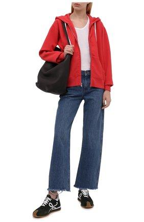Женский хлопковая толстовка POLO RALPH LAUREN красного цвета, арт. 211794396 | Фото 2
