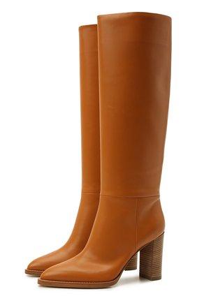 Женские кожаные сапоги kerolyn GIANVITO ROSSI светло-коричневого цвета, арт. G80403.85CU0.VITSINN | Фото 1
