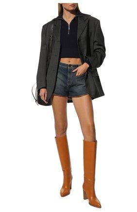 Женские кожаные сапоги kerolyn GIANVITO ROSSI светло-коричневого цвета, арт. G80403.85CU0.VITSINN | Фото 2