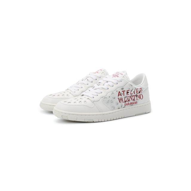 Кожаные кеды Atelier Shoes 08 San Gallo Edition Valentino