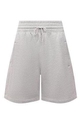 Женские хлопковые шорты AGOLDE серого цвета, арт. A9014-1336 | Фото 1