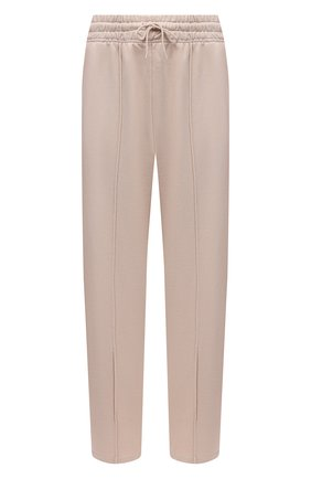 Женские хлопковые брюки AGOLDE светло-бежевого цвета, арт. A179 | Фото 1