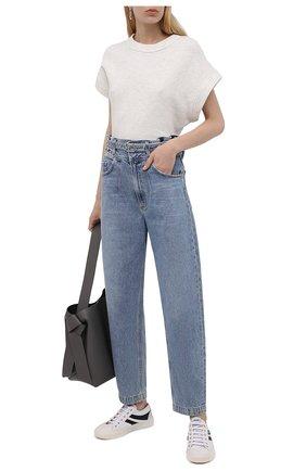 Женские джинсы AGOLDE голубого цвета, арт. A178-1254 | Фото 2