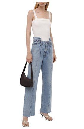 Женские джинсы AGOLDE голубого цвета, арт. A176-1206 | Фото 2
