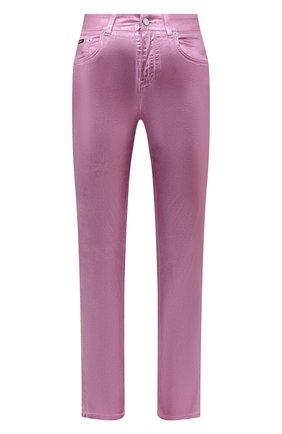 Женские джинсы DOLCE & GABBANA розового цвета, арт. FTAIAD/G900T   Фото 1