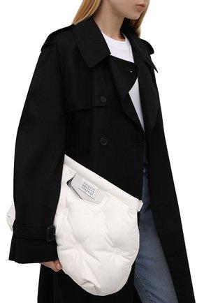 Женская сумка glam slam medium MAISON MARGIELA белого цвета, арт. S56WG0177/P4300   Фото 2