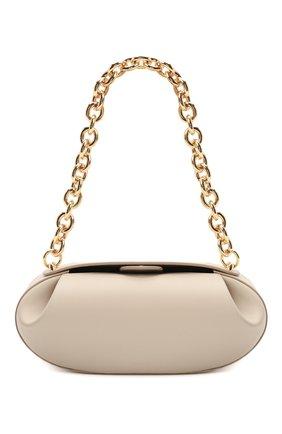 Женская сумка baton YUZEFI кремвого цвета, арт. YUZIC0-HB-BT-01   Фото 1