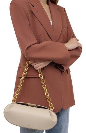 Женская сумка baton YUZEFI кремвого цвета, арт. YUZIC0-HB-BT-01   Фото 2