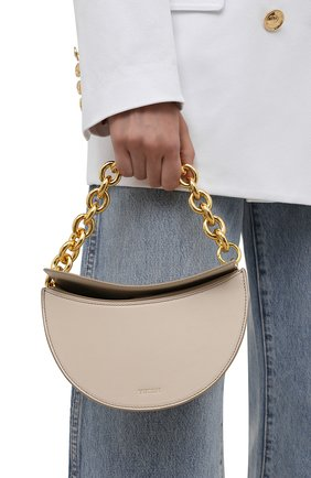 Женская сумка doris YUZEFI кремвого цвета, арт. YUZIC0-HB-D0-01   Фото 2