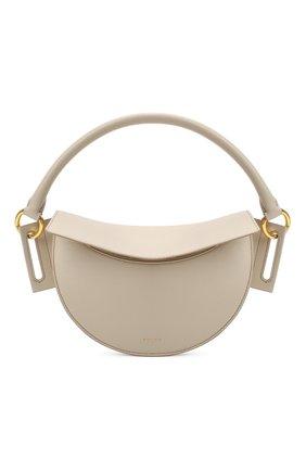 Женская сумка dip YUZEFI кремвого цвета, арт. YUZIC0-HB-DI-01   Фото 1