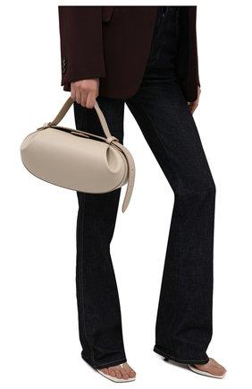 Женская сумка loaf YUZEFI кремвого цвета, арт. YUZIC0-HB-L0-01   Фото 2