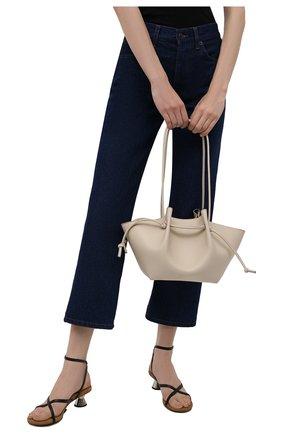Женская сумка mochi YUZEFI кремвого цвета, арт. YUZIC0-HB-M0-01   Фото 2
