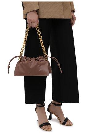 Женская сумка bom YUZEFI коричневого цвета, арт. YUZPF21-HB-B0-14   Фото 2