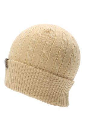 Женская кашемировая шапка BRUNELLO CUCINELLI  цвета, арт. M12182889   Фото 2 (Материал: Кашемир, Шерсть)