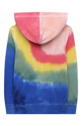 Детский хлопковая толстовка POLO RALPH LAUREN разноцветного цвета, арт. 311841548 | Фото 2