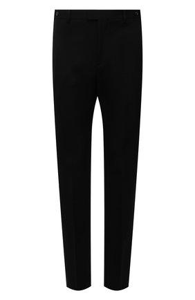 Мужские шерстяные брюки BOTTEGA VENETA черного цвета, арт. 659698/VKIS0 | Фото 1
