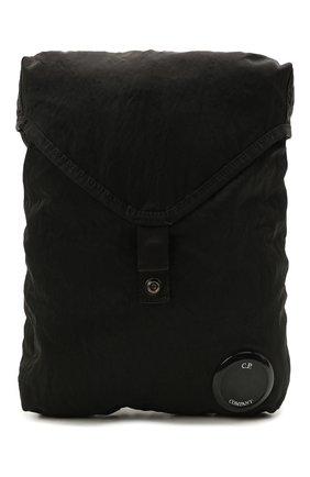 Мужская текстильная сумка C.P. COMPANY черного цвета, арт. 11CMAC113A-005269G | Фото 1