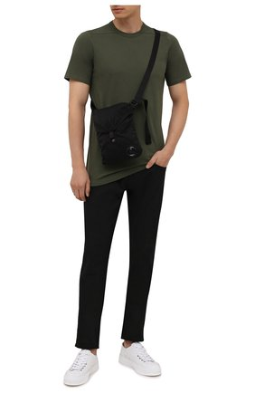 Мужская текстильная сумка C.P. COMPANY черного цвета, арт. 11CMAC113A-005269G | Фото 2