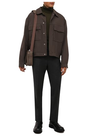 Мужские кожаные челси W.GIBBS черного цвета, арт. 0537002/2535 | Фото 2
