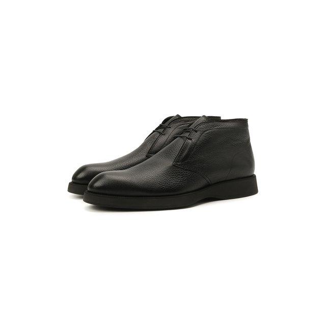 Кожаные ботинки Brioni