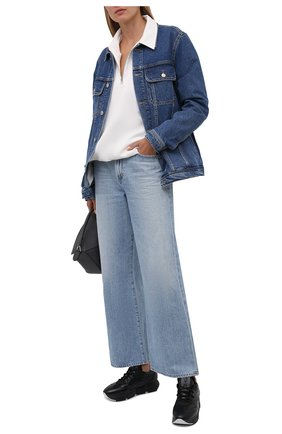 Женские текстильные кроссовки VIC MATIE черного цвета, арт. 1W3103D.U02W050101   Фото 2