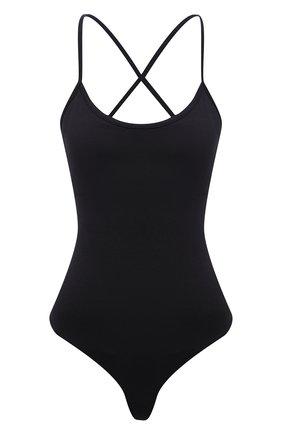 Женское боди AGOLDE черного цвета, арт. A7087-1269 | Фото 1