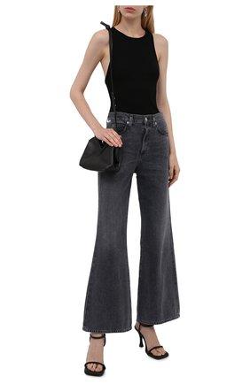 Женское боди AGOLDE черного цвета, арт. A7085-1260 | Фото 2