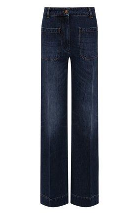 Женские джинсы VICTORIA BECKHAM синего цвета, арт. 1521DJE002909A | Фото 1