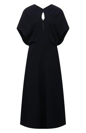 Женское платье VICTORIA BECKHAM темно-синего цвета, арт. 1521WDR002899A | Фото 1