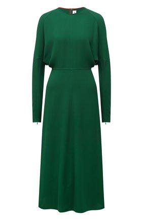 Женское платье из вискозы VICTORIA BECKHAM зеленого цвета, арт. 1521WDR003068A | Фото 1