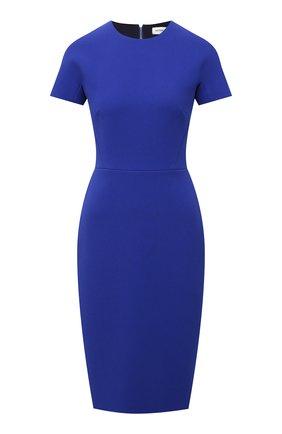 Женское платье VICTORIA BECKHAM синего цвета, арт. 1521WDR003125A | Фото 1