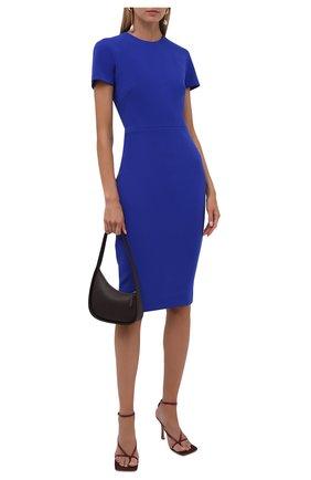 Женское платье VICTORIA BECKHAM синего цвета, арт. 1521WDR003125A | Фото 2