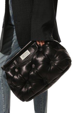 Женская сумка glam slam medium MAISON MARGIELA черного цвета, арт. S56WG0177/P4300   Фото 2
