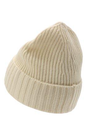 Детского шапка из шерсти и вискозы STONE ISLAND белого цвета, арт. 7516N03A8 | Фото 2