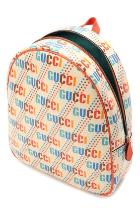 Детская рюкзак GUCCI разноцветного цвета, арт. 433578/21ZDN | Фото 3 (Материал: Текстиль)