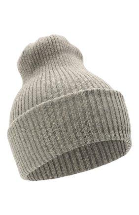 Детского шерстяная шапка CATYA серого цвета, арт. 125698 | Фото 1