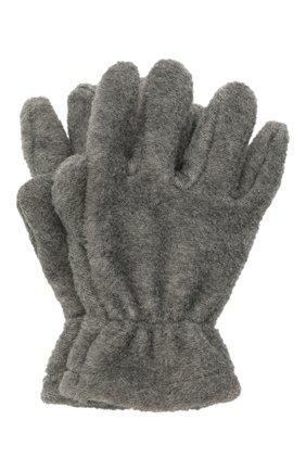 Детские перчатки CATYA темно-серого цвета, арт. 125543 | Фото 1