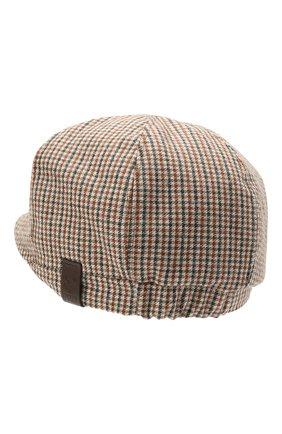 Мужская кепи из шерсти и вискозы DSQUARED2 светло-коричневого цвета, арт. HAM0035 01W03286 | Фото 2 (Материал: Шерсть)