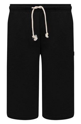 Мужские хлопковые шорты ACNE STUDIOS черного цвета, арт. CE0015/M | Фото 1