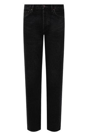 Мужские джинсы ACNE STUDIOS черного цвета, арт. B00173 | Фото 1